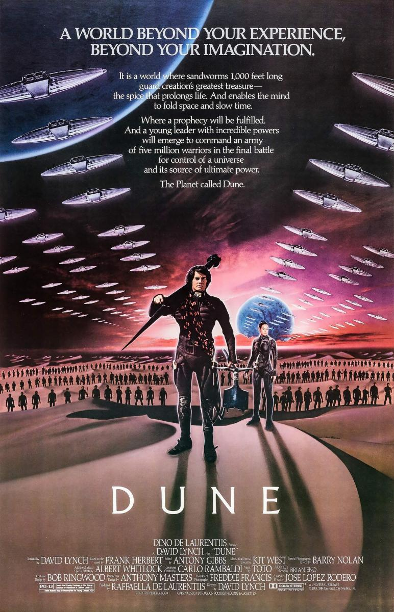 DUNE (1984) [BLURAY 720P X264 MKV][AC3 5.1 CASTELLANO] torrent
